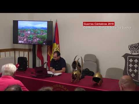 Conferencias Guerras Cántabras 2018: Enrique Gutiérrez Cuenca