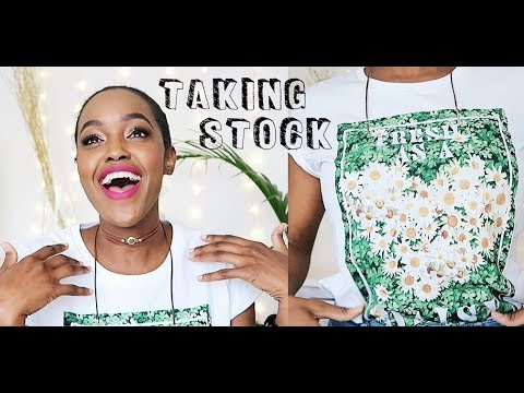 CHANGING UP MY STYLE + MAKING MONEY IN 2018 | TAKING STOCK