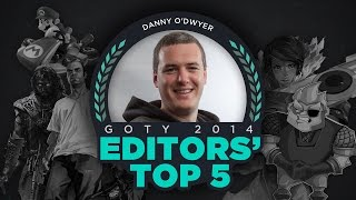 Danny O'Dwyer - GameSpot Editors' Top 5 Games of 2014