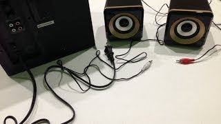 Kinivo M2 Bluetooth 2.1 Speaker system with NFC pairing 56W Unboxing