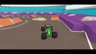 Roblox Monster Jam Freestyle: Fossoyeur de tombes