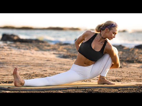 Blissful Yoga Flow For Unsettling Times   Yoga To Find Balance, Strength & Peace At Home