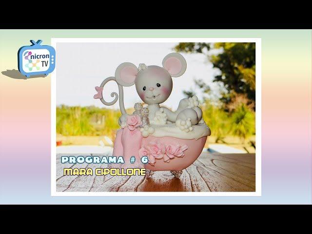 NICRON TV Como hacer ratoncita en bañera - Mara Cipollone