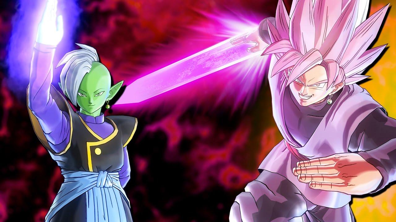 Goku Black Super Saiyan Rose: Super Saiyan Rose Goku Black Vs Zamasu! PURE DLC 3