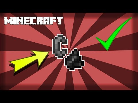 MINECRAFT   How to Make Flint and Steel! 1.15.2