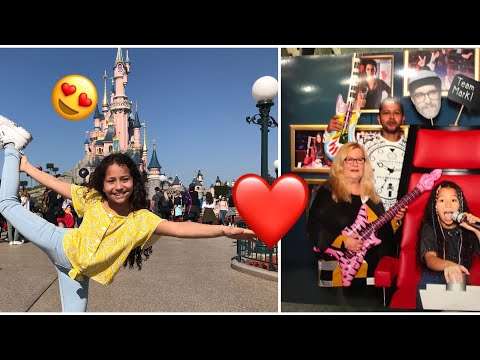 Mit the Voice Kids in Paris 😍Disneyland😍❤️