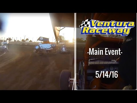 California Lightning Sprint at Ventura Raceway -Main Event - 5/14/16