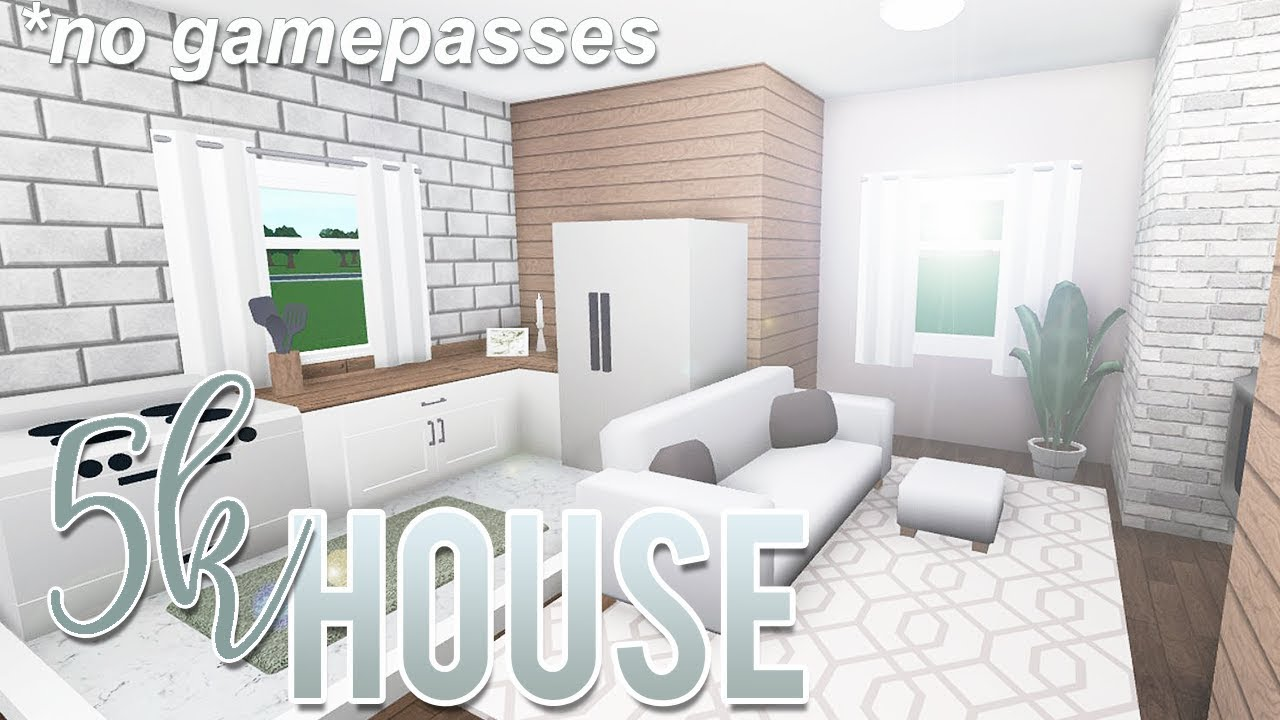 Roblox Bloxburg 5k House No Gamepass Youtube