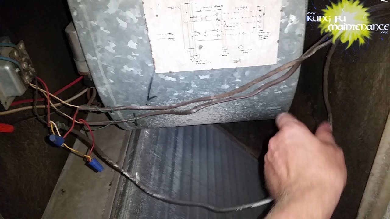 Noisy Shaking Blower Motor Remove Replace Repair First Co Brand Heater AC  Air Handler