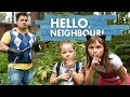 ПРИВЕТ СОСЕД в реальной жизни! У ПАПЫ есть ТАЙНА! Hello Neighbor in real life, funny video