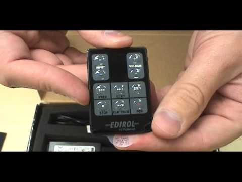 Unboxing the Roland Wav/MP3 Sound Recorder