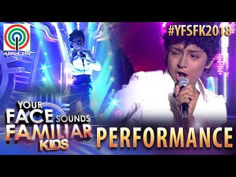 Your Face Sounds Familiar Kids 2018: Noel Comia as Tom Jones | Kiss