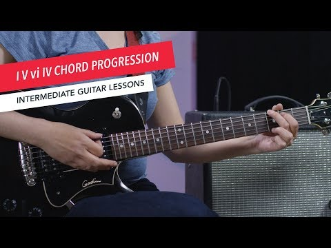 How to Play Guitar: Popular Chord Progressions (I-V-vi-IV)   Intermediate   Guitar Lessons
