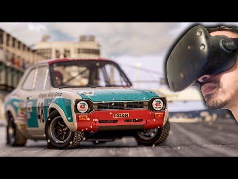 LA NEIGE EN VR ! - PROJECT CARS 2 VR - GMEPLAY HTC VIVE