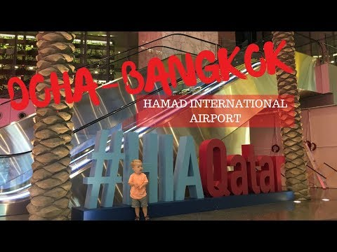 Doha to Bangkok with QATAR AIRWAYS and checking into the AMARI WATERGATE HOTEL
