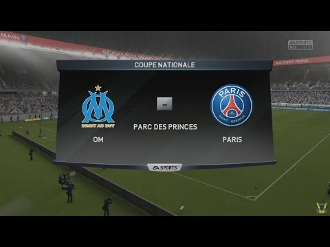 Olympique Marseille - Paris SG [FIFA 16] | Coupe de France 2015-2016 (Finale) | CPU Vs. CPU