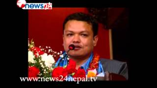 PUBLIC SPEECH 2,PREM BANIYA AND Dr. BHIMARJUN AACHARYA - NEWS24 TV