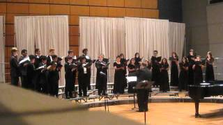 "North Mesquite HS Chamber Singers ""Hard Times Come Again No More"""