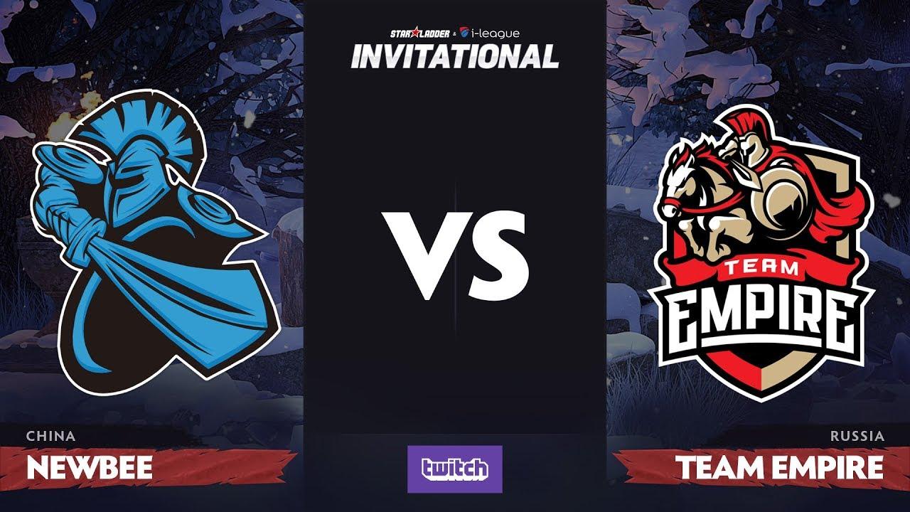 Newbee против Team Empire, Вторая карта, Group B, SL i-League Invitational S4