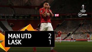 Manchester United vs LASK (2-1) | UEFA Europa League Highlights