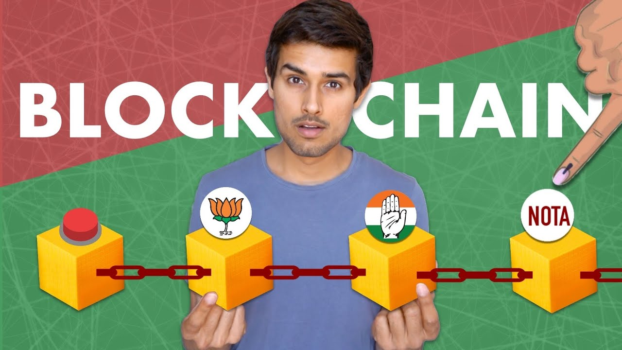 What is Blockchain? How Elections on Blockchain work?   Bitcoin   Dhruv Rathee