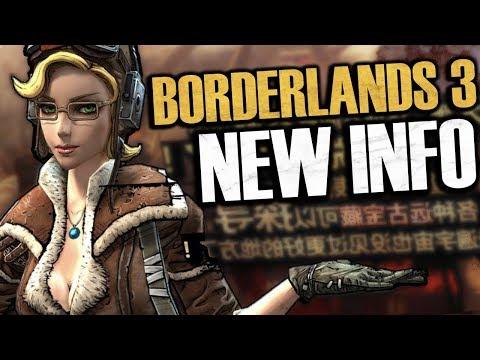 Borderlands 3 NEW INFO! BL3 Won't Be At E3, Randy Pitchford Calls BL3 The Next Half-Life 3, & More!