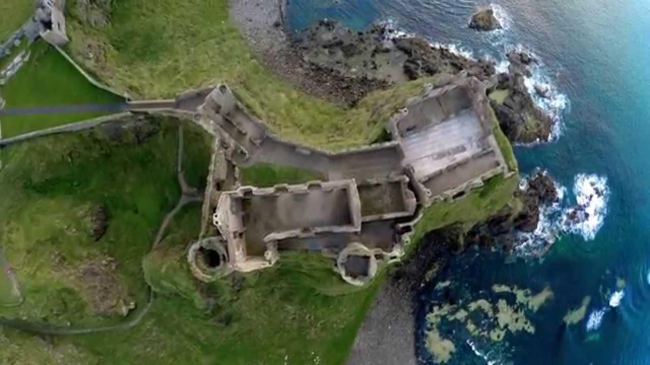 Dji Phantom 3 Drone >> Dunluce Castle - North Antrim Coast DJI Phantom Drone - YouTube