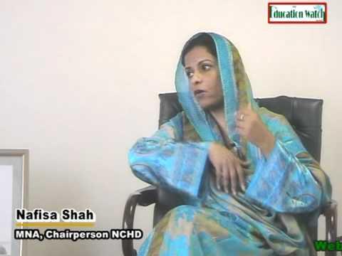 Nafisa Shah Nafisa Shah MNAChairperson NCHD part 1 YouTube
