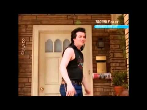 Grounded for Life - Eddie's piercing