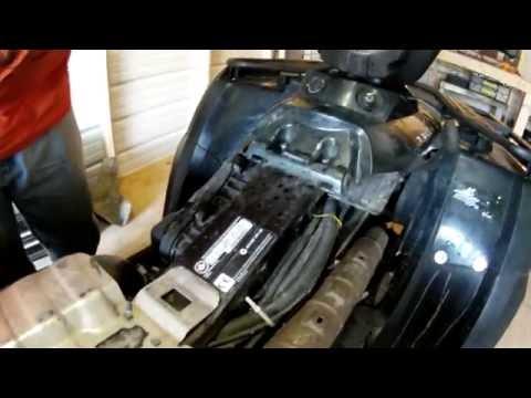 vidange moteur CAN AM outlander max 400 de 2005 FunnyDogTV