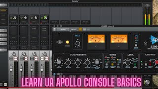 How to use the Universal Audio Apollo Console