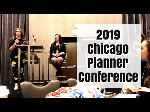 Weekly Vlog #9   Harry Potter Themed Tea   Chicago Planner Conference