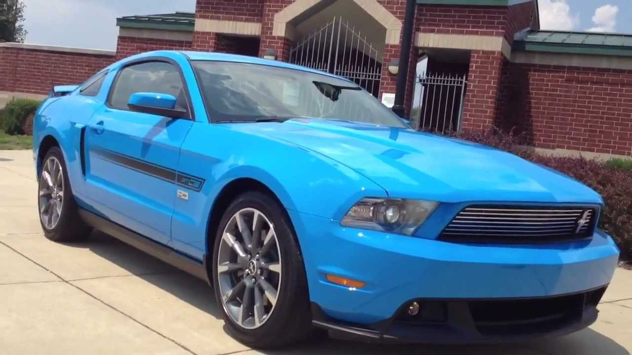 Mustang Gt California Special >> 2011 Ford Mustang GT CS For Sale. - YouTube