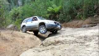 Subaru Forester Off Road - Bunyip Rock Climb - Part 3 of 3
