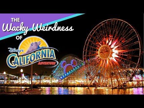 The Wacky Weirdness That Was Disney's California Adventure