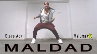 Steve Aoki  Maluma - Maldad // Choreo for Zumba by Jose Sanchez