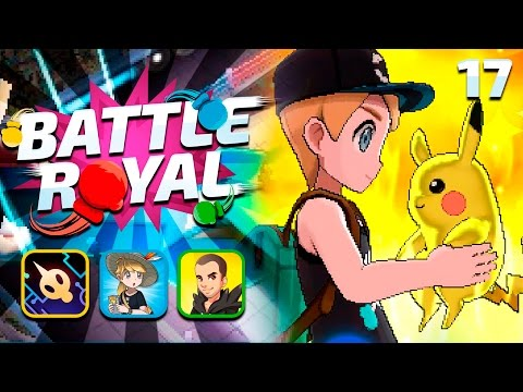 CATCH! - Pokemon Sun and Moon WiFi BATTLE ROYAL #17 w/ GameboyLuke, FeintAttacks & UnlawfulExile