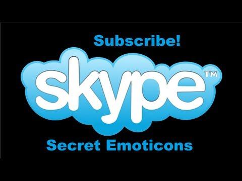 How to get Secret Emoticons on Skype (Link of Secret Emoticons in Description)