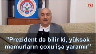 """""""Bəlkə prezidentin oğlu Qarabağı azad etdi, sənin də orada meyidin qaldı""""-Tahir Kərimli"""
