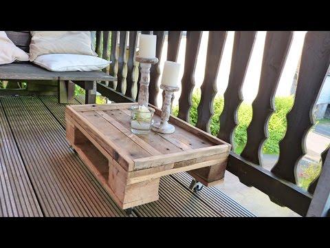 Gut gemocht DIY Tisch Aus Paletten Und Beton Selber Bauen Beton Schreibtisch RS11