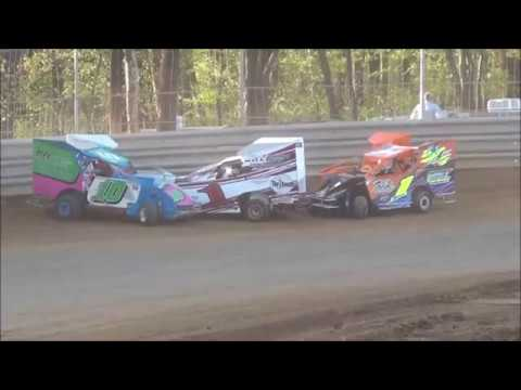 Junior Slingshot Heat Race Shellhammers Speedway Saturday 4/27/2019