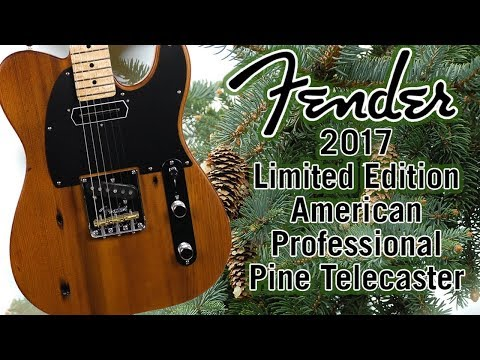Fender 2017 Limited Edition American Professional Pine Telecaster Review & Demo