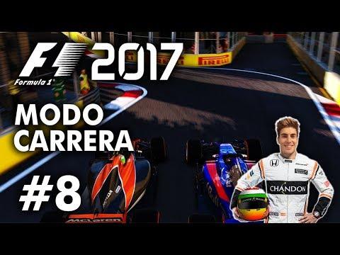 TORPEDO VÁ...   F1 2017 Codemasters MODO TRAYECTORIA   #8 [DEMENCIAL 110%]