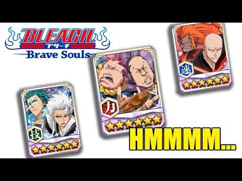 Bleach Brave Souls Tag Team Omaeda, Ikkaku, and Toshiro INFO!!!