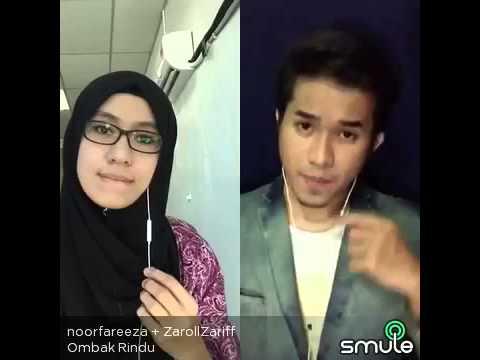 Ombak Rindu Cover (Smule) - ZarollZariff + noorfareeza