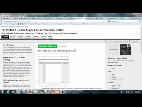 PHP RSS Series Part 9 Getting A News Layout Template
