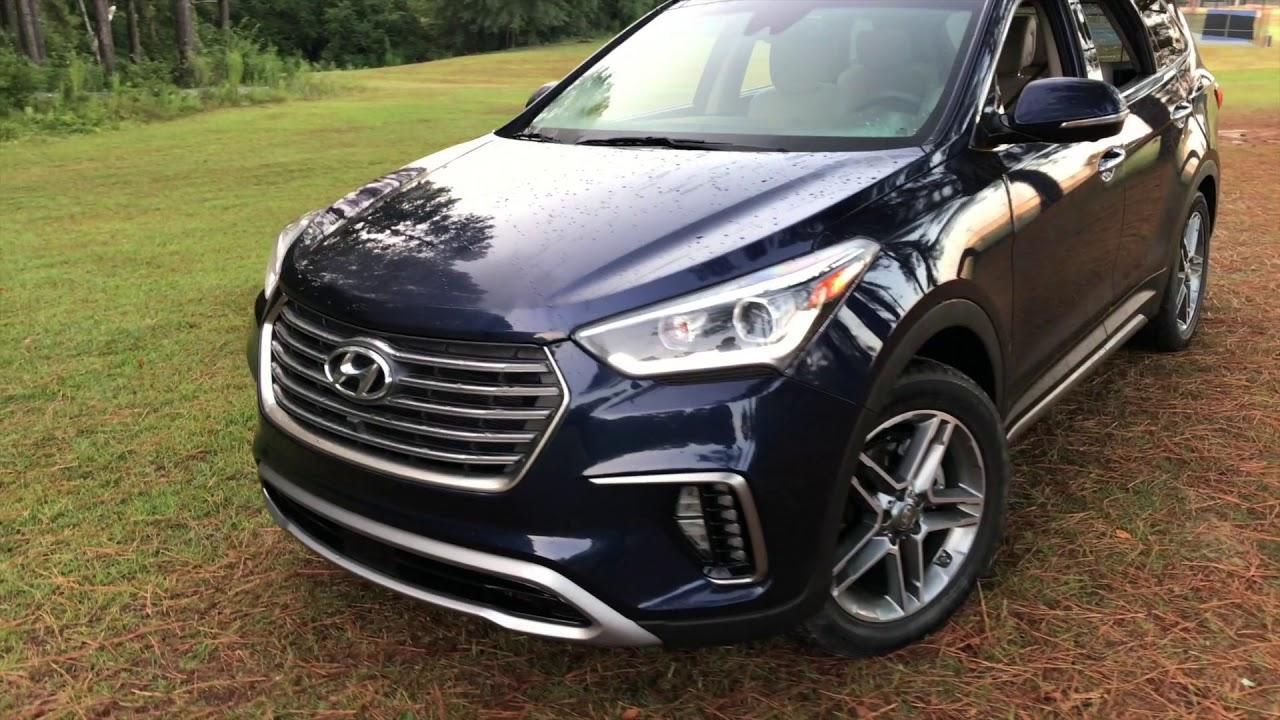 Santa Fe Suv >> 2018 Hyundai Santa Fe Limited SUV - YouTube