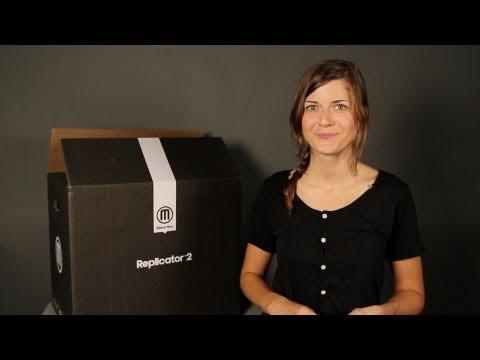 0 - MakerBot Replicator 2 Desktop 3D-Drucker (Update)