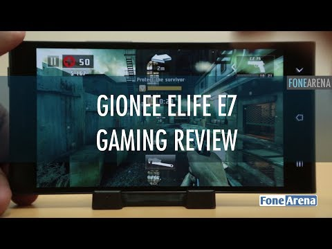 Gionee Elife E7 Gaming Review