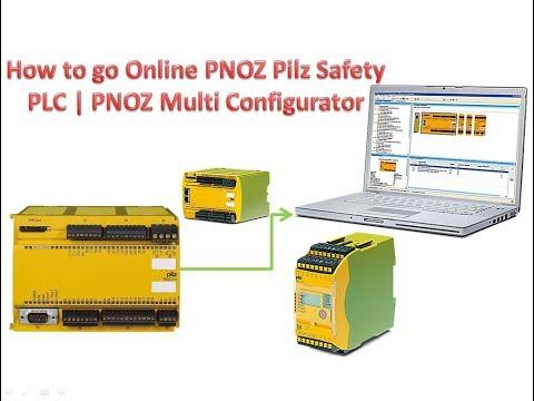 How to go Online PNOZ Pilz Safety PLC | PNOZ Multi Configurator